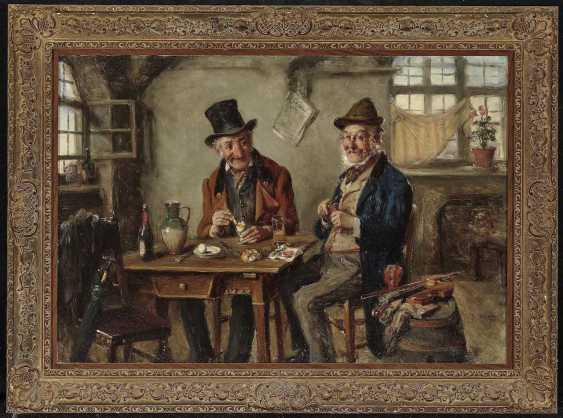 Kern, Hermann Armin. Vespers in the tavern - photo 2