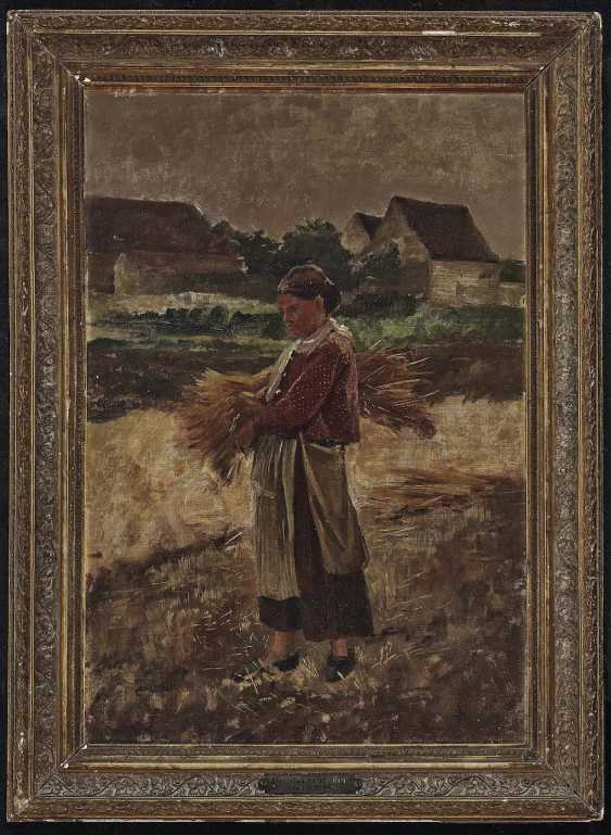 Schrader, Bertha. Farmer with Ears of corn - photo 2