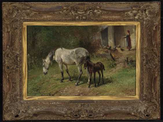 Voltz, Ludwig. Horse with foal - photo 2