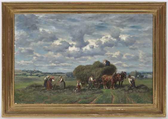 Thomassin, Désiré. Farmers in the hay harvest - photo 2