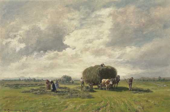 Thomassin, Désiré. Farmers in the hay harvest - photo 1