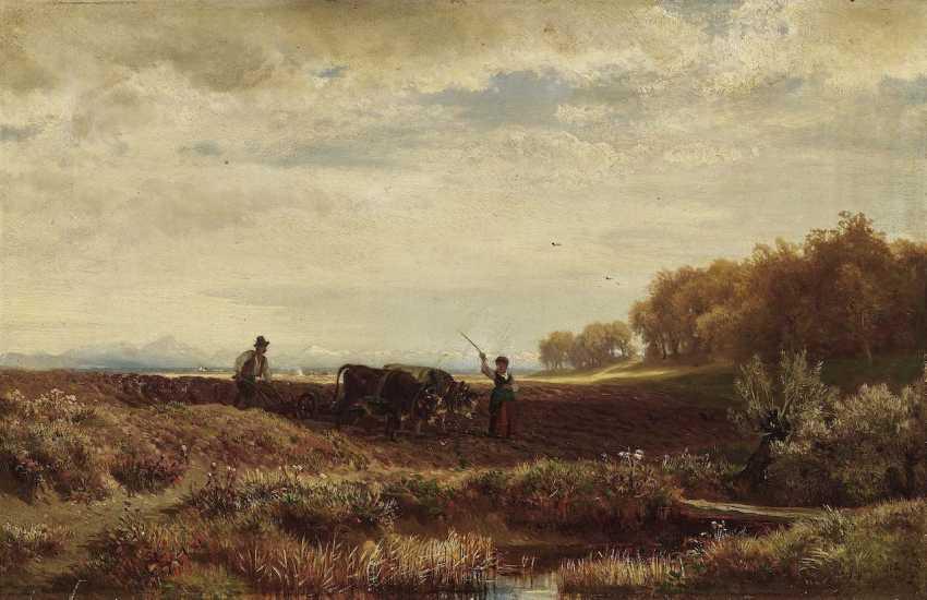 Steffan, Johann Gottfried. An autumn day from the environment V., Munich - photo 1