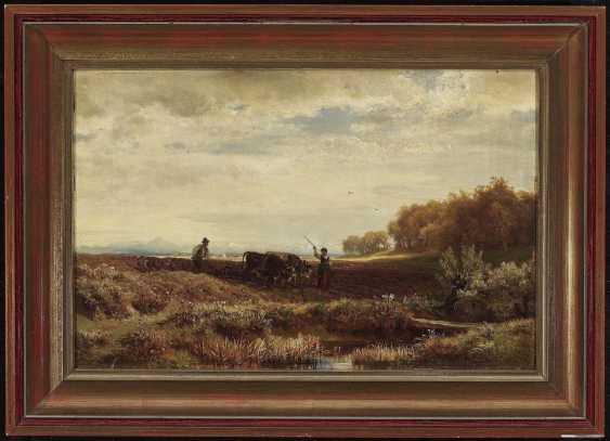 Steffan, Johann Gottfried. An autumn day from the environment V., Munich - photo 2