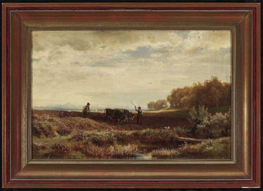 Steffan, Johann Gottfried. An autumn day from the environment V., Munich - photo 3