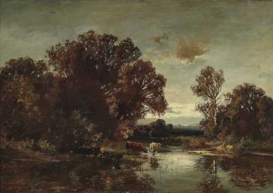Halberg-Krauss, Fritz. Cattle at the water - photo 1