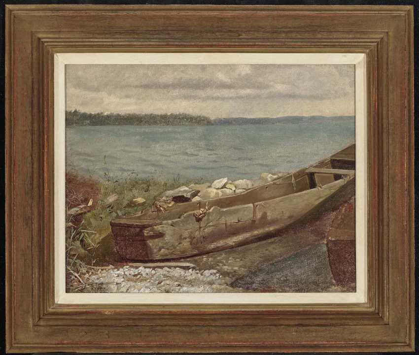 Wopfner, Josef. Kahn am Chiemsee-Ufer - photo 2