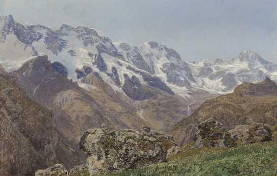 LaCour, Janus (Janus Andreas). Swiss Mountain Landscape - photo 1