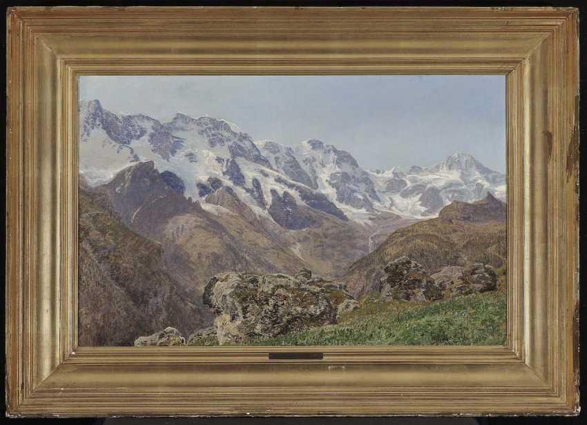 LaCour, Janus (Janus Andreas). Swiss Mountain Landscape - photo 2