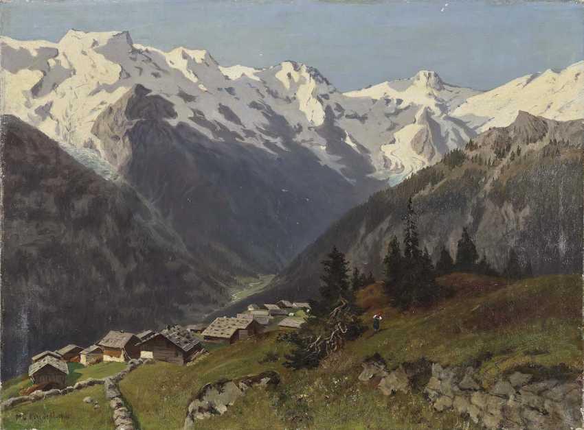 Keudell, Marie of. Mürren in the Bernese Oberland, Switzerland - photo 1