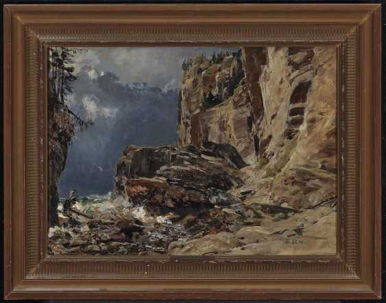 Bracht, Eugen. Rocky Mountain Landscape - photo 2
