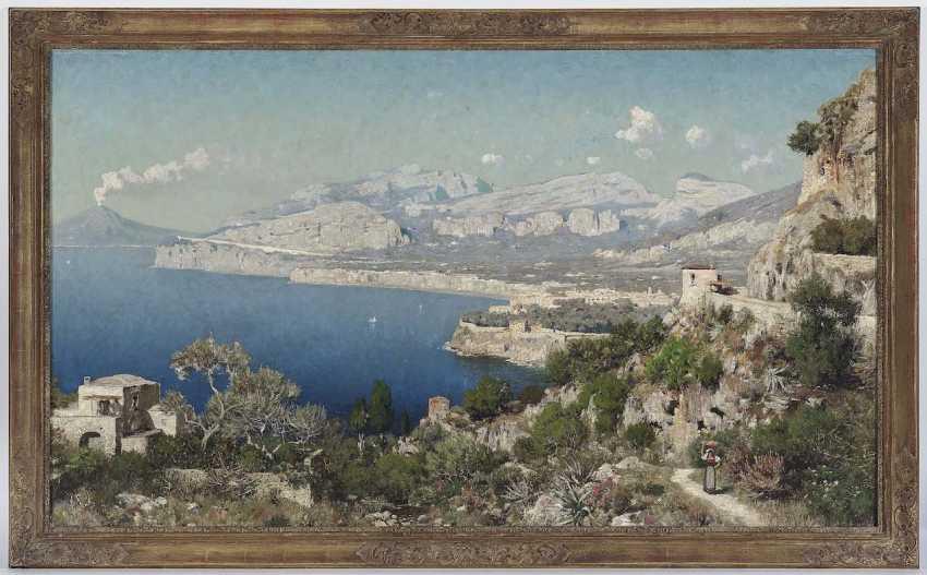 Berninger, Edmund. The coast of Sorrento with views of mount Vesuvius - photo 2