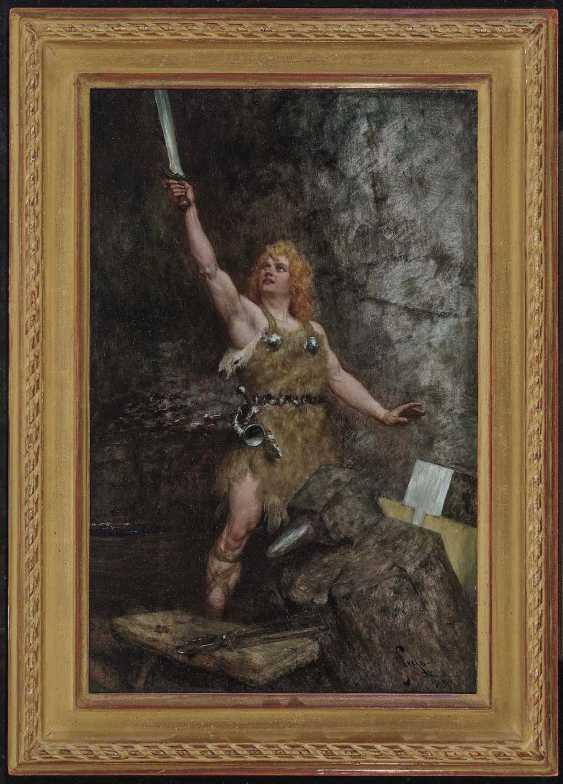 Leeke, Ferdinand. Siegfried with the sword - photo 2