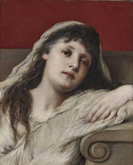 Max, Gabriel von. Portrait of a young woman - photo 1