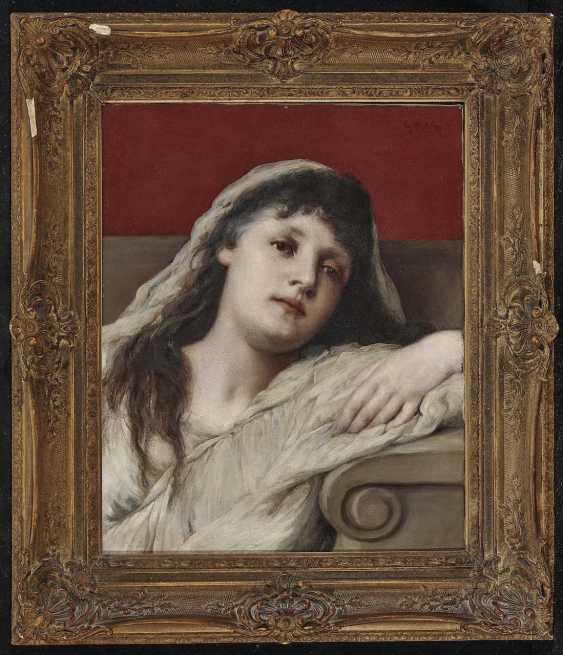 Max, Gabriel von. Portrait of a young woman - photo 3