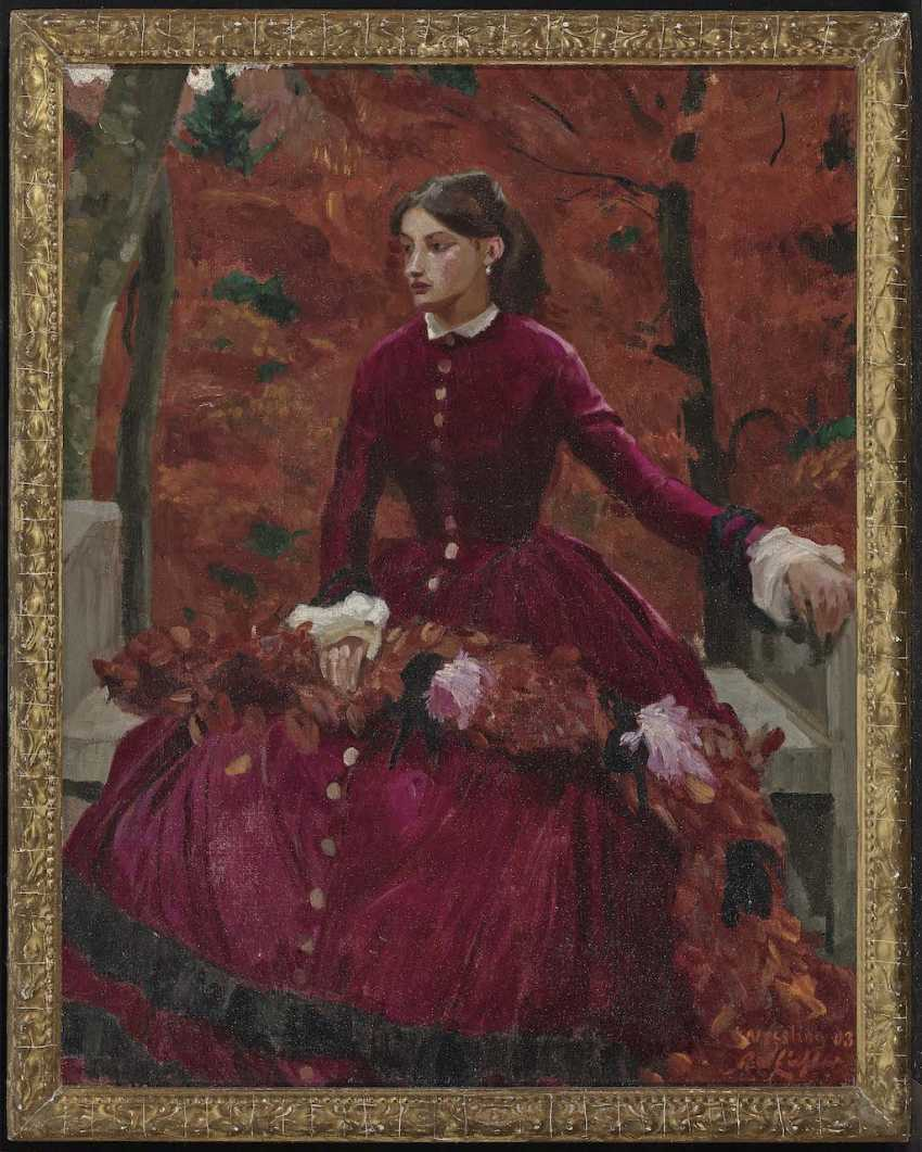 Eichler, Reinhold Max. Lady in Red - photo 2
