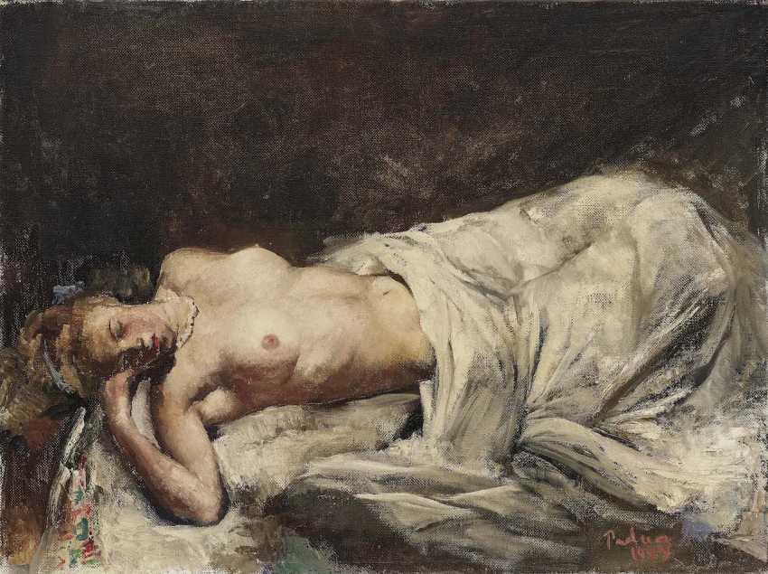 Padua, Paul Mathias. Reclining female Nude - photo 1