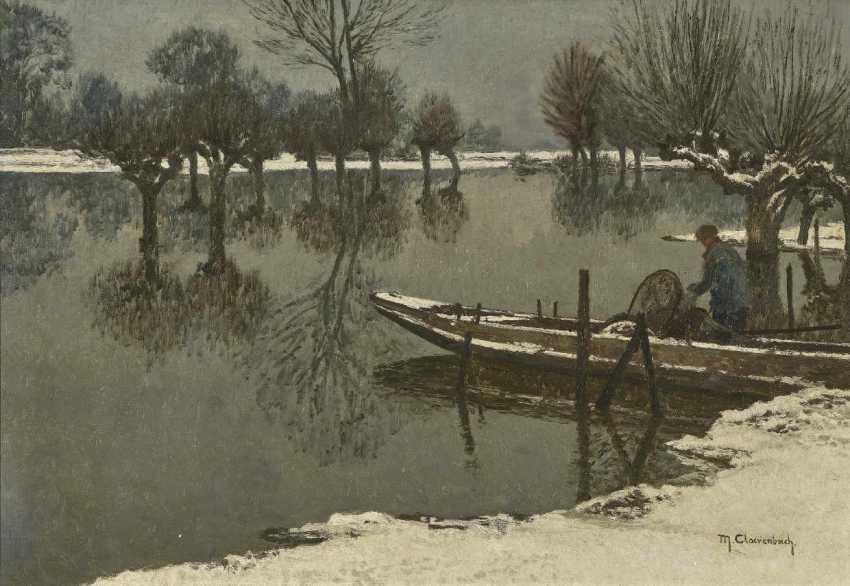 Clare Brook, Max. Winter Rheinau Landscape - photo 1