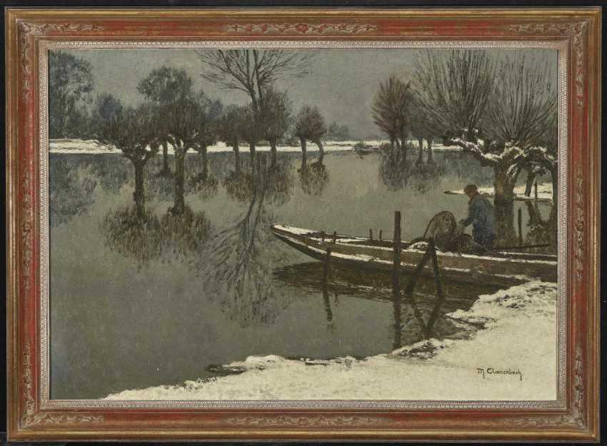 Clare Brook, Max. Winter Rheinau Landscape - photo 2
