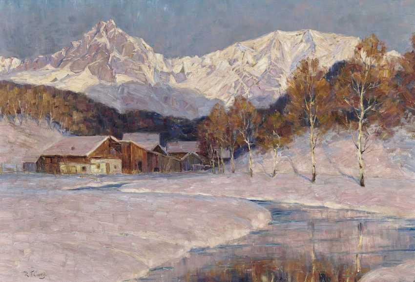 Curry, Robert F.. Winterlandschaft - photo 1