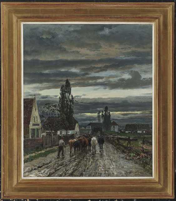 Andersen-Lundby, Anders. Street scene in Landsberg am Lech - photo 2