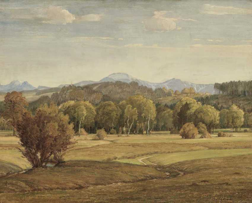 Sieck, Rudolf. Pre-Alpine landscape - photo 1