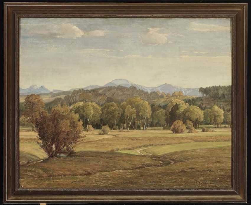 Sieck, Rudolf. Pre-Alpine landscape - photo 2