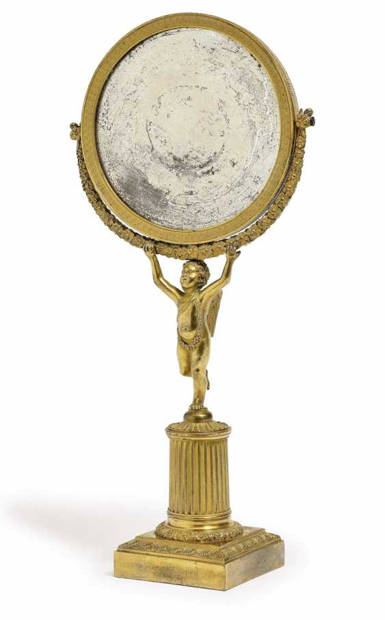 Hand mirror. Paris, 19. Century - photo 1