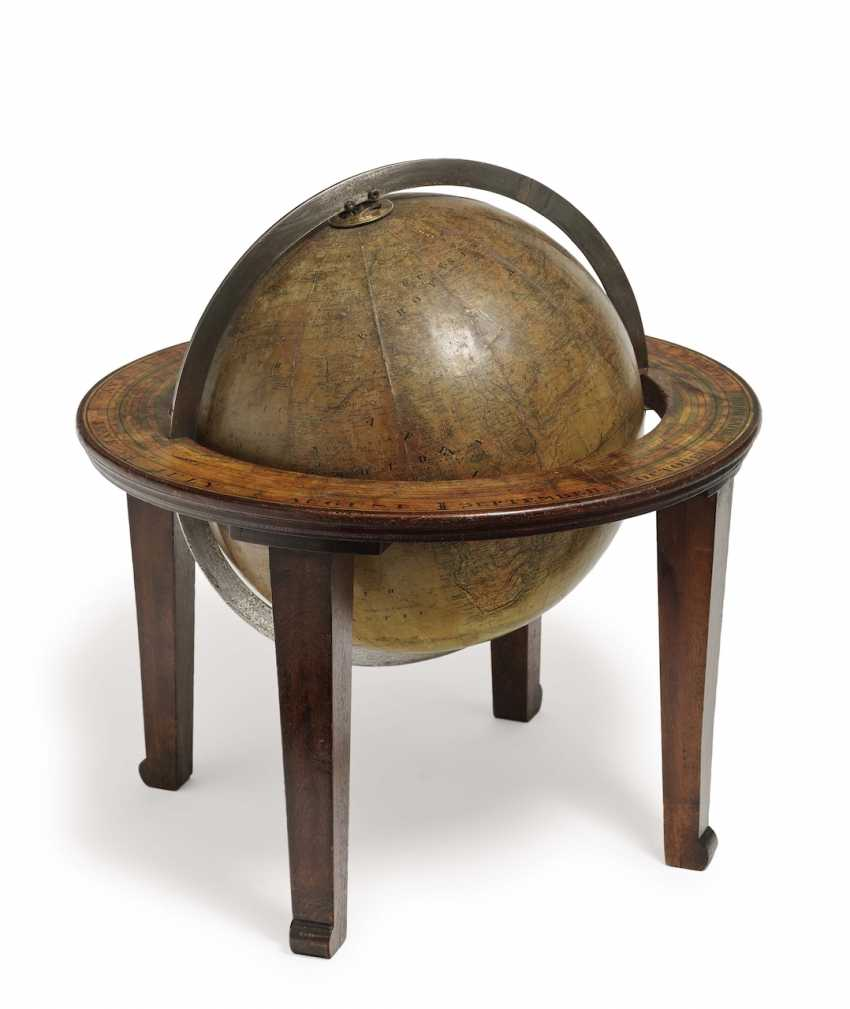 Table globe. H. Schedler, New York, End Of 19th Century. Century - photo 1