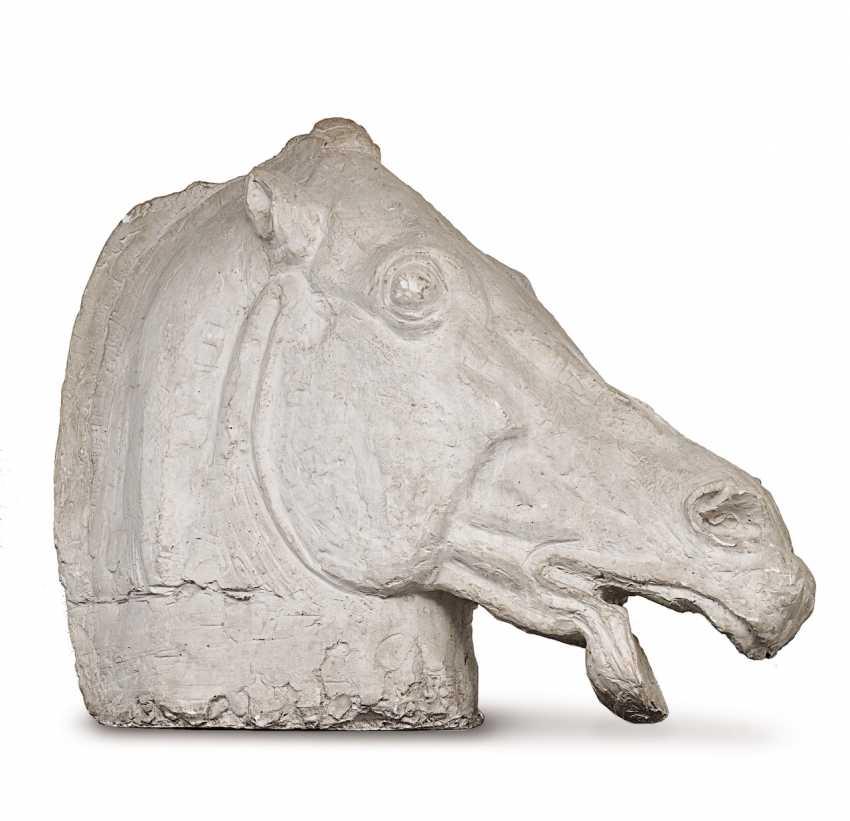 The horse's head. France, around 1940 - photo 1