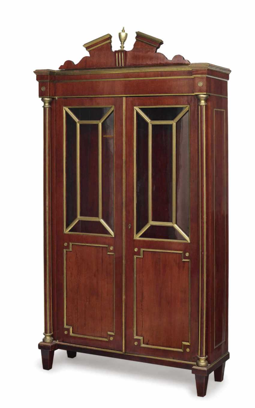 Showcase Cabinet. Russia, At The End Of 18. Century - photo 1