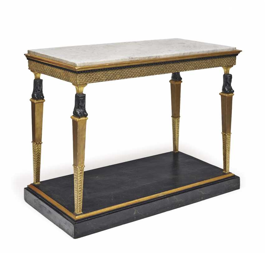 A console table. Sweden, 1. Half of the 19th century. Century - photo 1