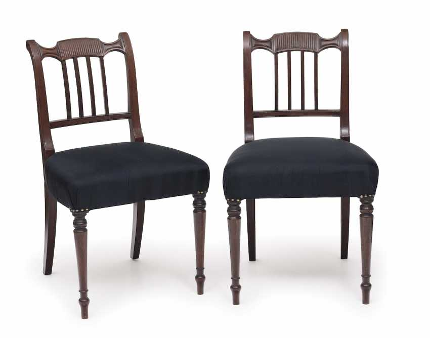 Set of six chairs. England, 1. Half of the 19th century. Century - photo 1