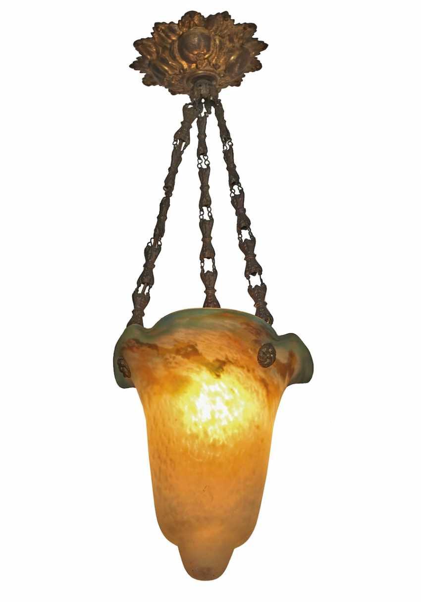 Hanging lamp. France, um1920 - photo 1