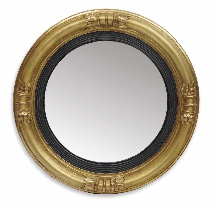 Convex mirror. England, 19. Century - photo 1