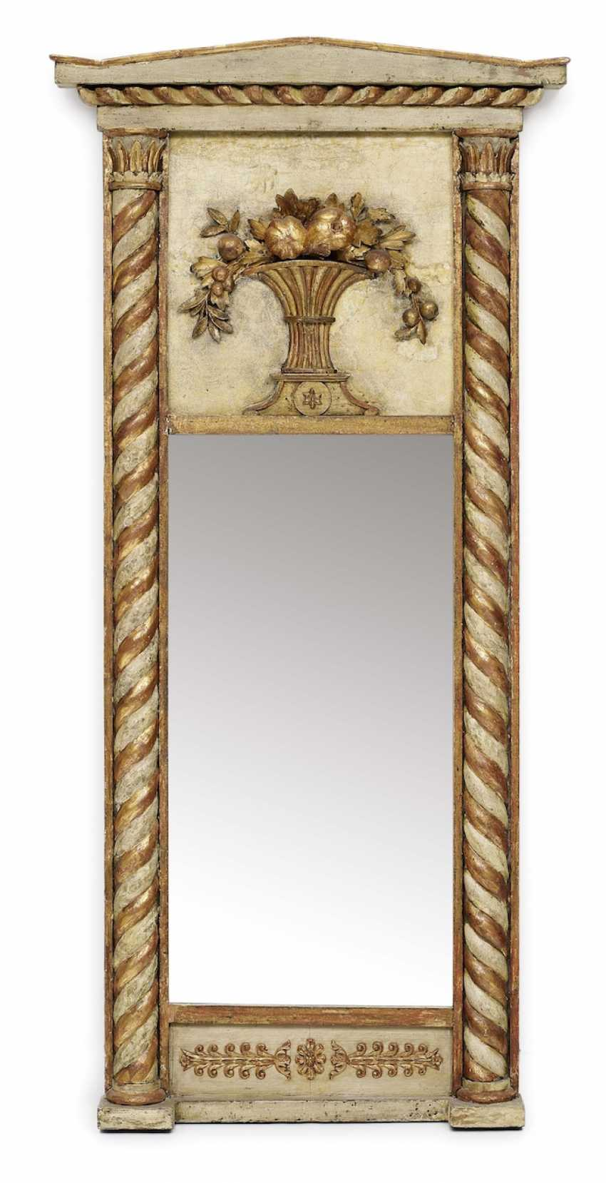 Trumeau mirror. Sweden, 19. Century - photo 1