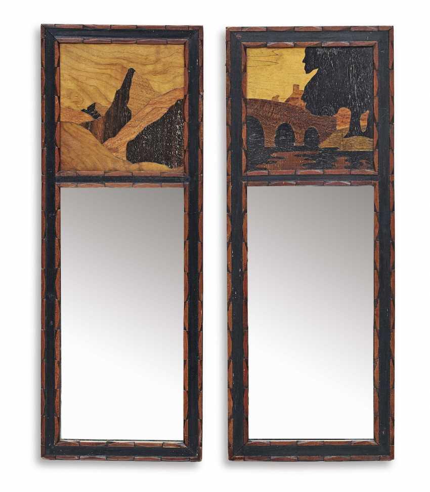 A Pair Of Mirrors. England, around 1900 - photo 1