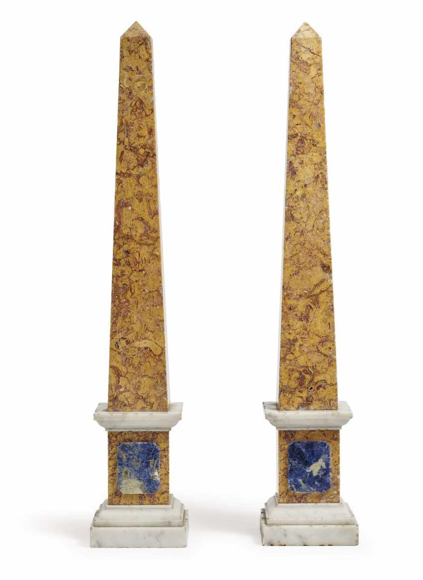 A Couple Of Obelisks. Italy, 1. Half of the 19th century. Century - photo 1