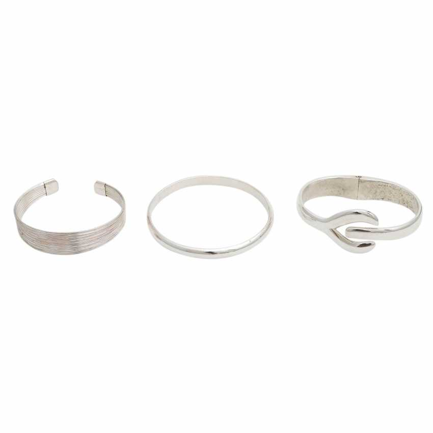 Jewelry mixed lot of 7 pieces, silver, - photo 2