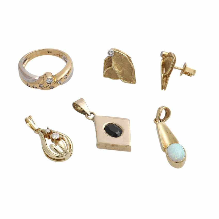 Jewelry mixed lot of 9 pieces, - photo 4