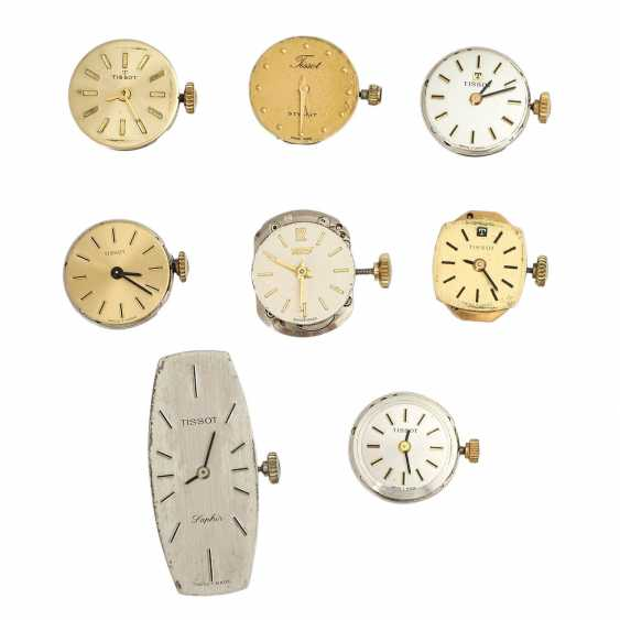 Vintage ladies watch works 8 pieces, TISSOT, - photo 1