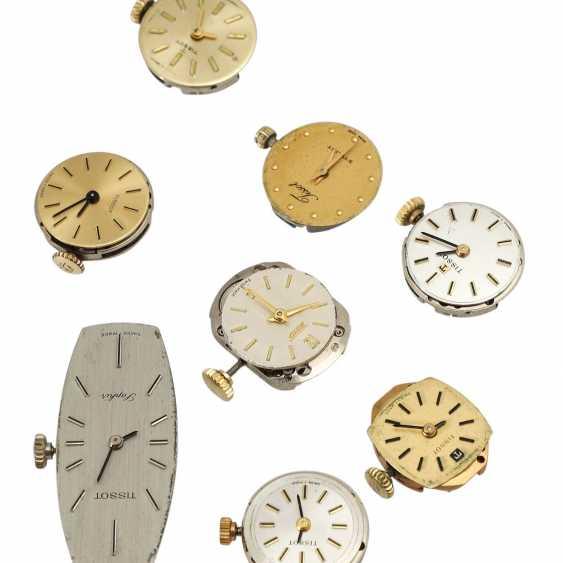 Vintage ladies watch works 8 pieces, TISSOT, - photo 3