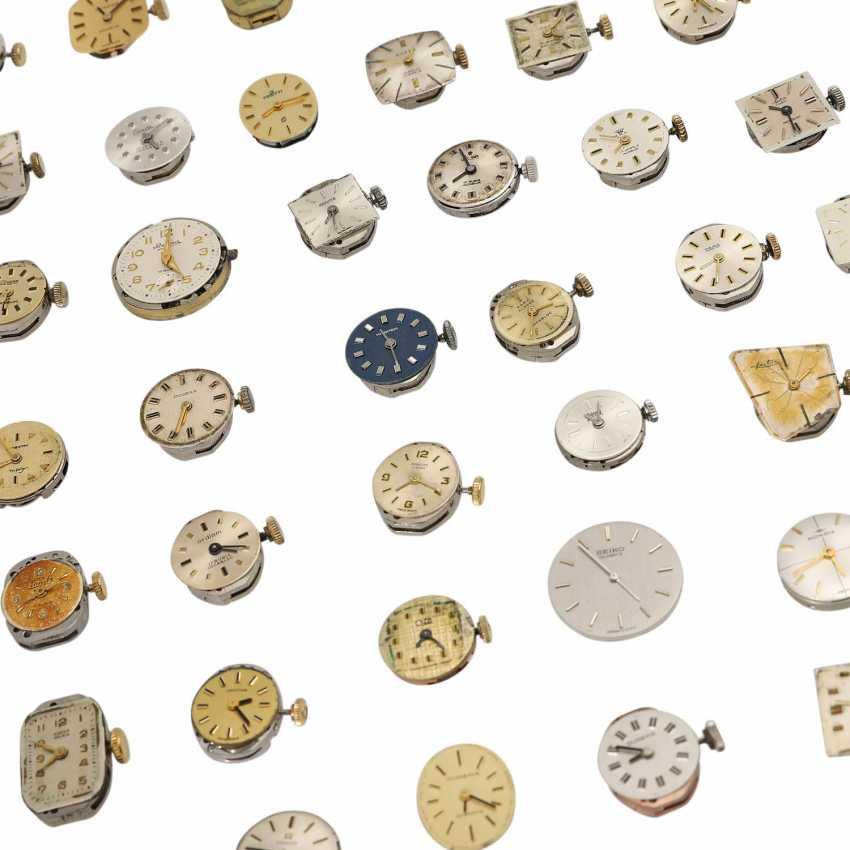 Vintage ladies watch works of 56 PCs of various brands, - photo 1