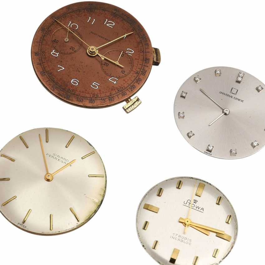 Vintage men's watch works, 4 PCs, various brands, - photo 2