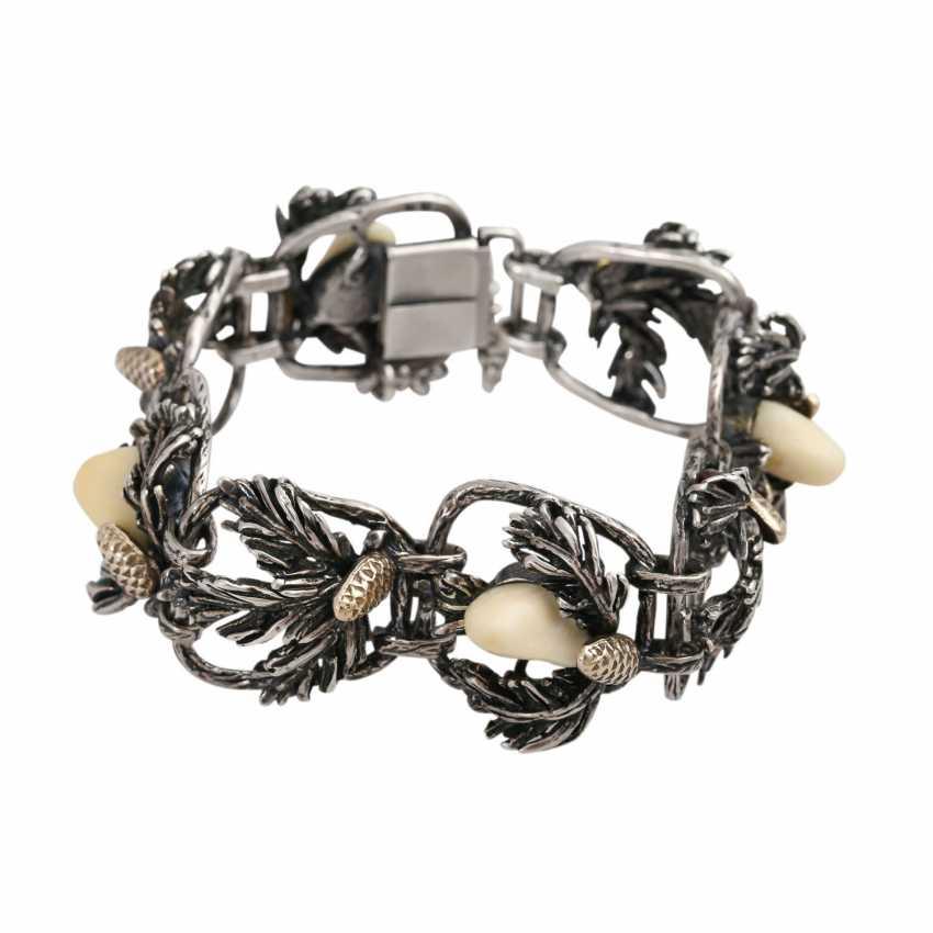 Vintage 4-piece Trachten/hunting jewelry, - photo 2