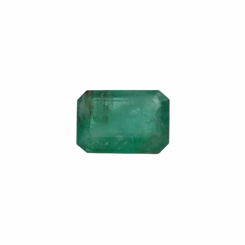 Loser Smaragd, ca. 1,96 ct, - photo 1