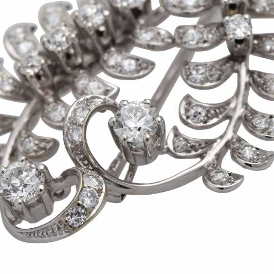 "Brooch ""Bouquet"" bes. with diamonds - photo 5"