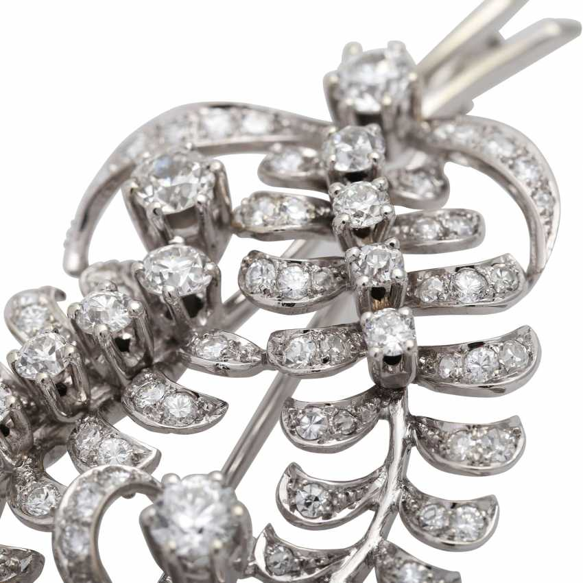 "Brooch ""Bouquet"" bes. with diamonds - photo 6"