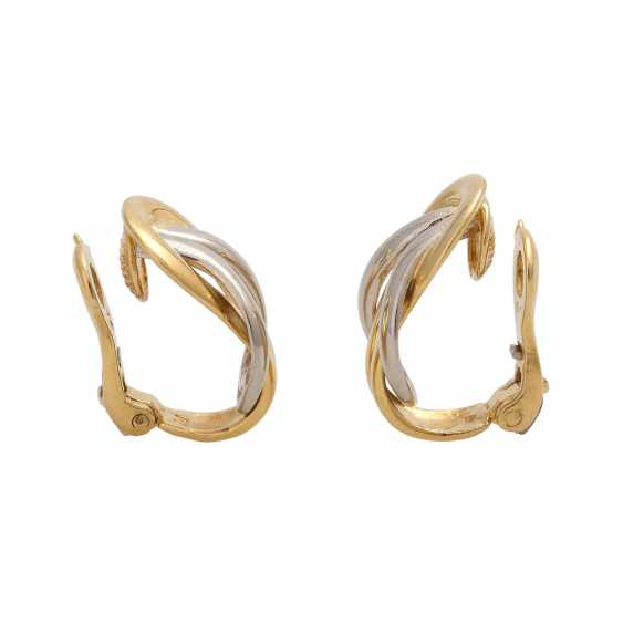 CHRISTOFLE Pair of clip-on earrings - photo 2
