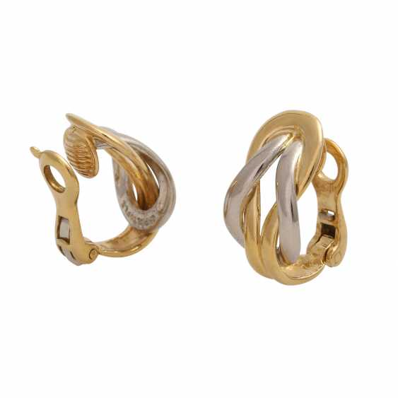 CHRISTOFLE Pair of clip-on earrings - photo 3