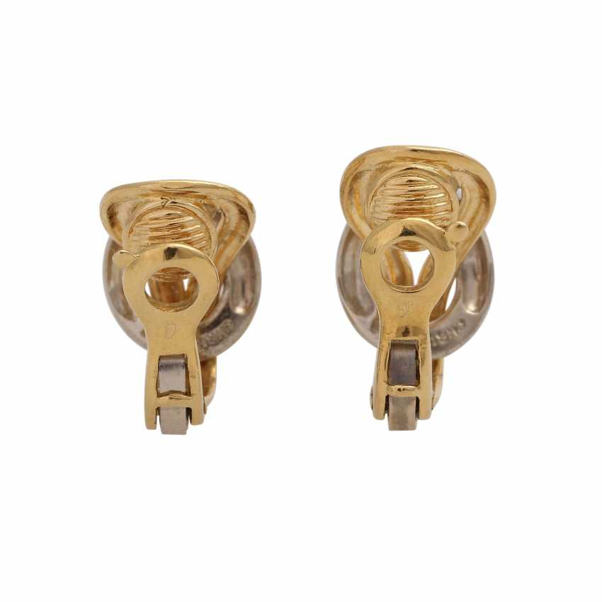 CHRISTOFLE Pair of clip-on earrings - photo 4